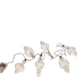 4-foot Illuminated Finial Ornament Strand